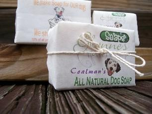 All Natural Lavender & Oatmeal Dog Soap