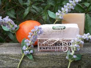 All Natural Tangerine and Lavender Soap - Earthbound Experience