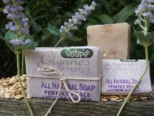 All Natural Lavender Oatmeal Soap - Perfect Peace