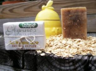All Natural Honey Oat Soap - Soothing Solitude