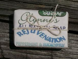 Rejuvenation All Natural Soap - 4 oz bar