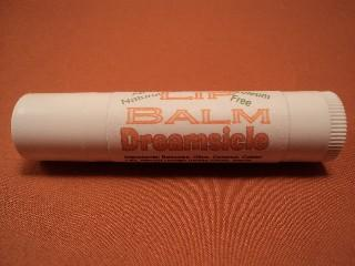 All Natural Petroleum Free Dreamsicle Lip Balm