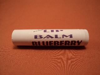 All Natural Petroleum Free Blueberry Lip Balm