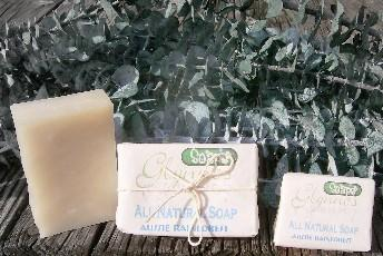 All Natural Aussie Rainforest Soap- Eucalyptus
