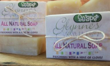 All Natural Patchouli and Clove Soap