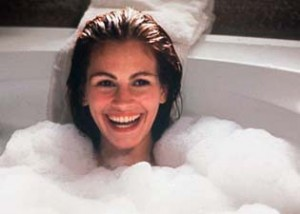 Julia Roberts Bubble Bath